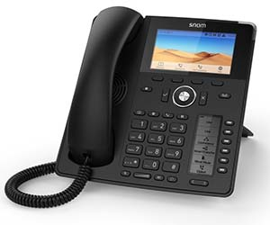 Two feature-rich Snom desk phones from Duxbury