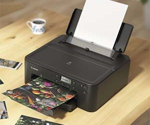 Canon debuts smallest five-ink single function printer
