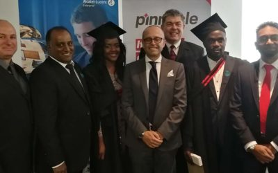 Life-changing moment for ICT grads