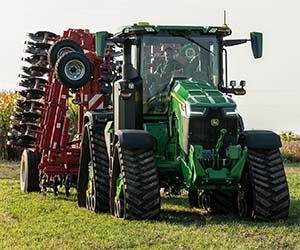 John Deere shows off smart tractor