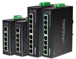 TrendNet debuts industrial Fast Ethernet switches